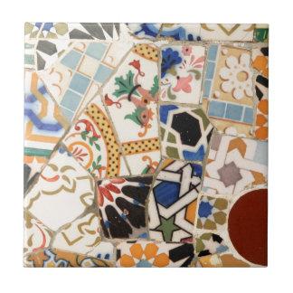 modelo de cerámica azulejo cuadrado pequeño