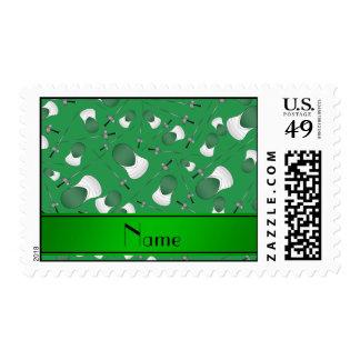 Modelo de cercado verde conocido personalizado sellos