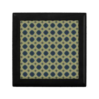 modelo de color caqui azul caja de joyas