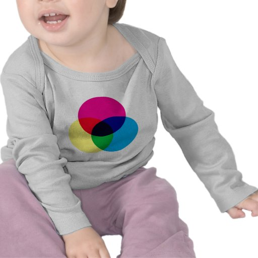 Modelo de color de CMYK Camisetas