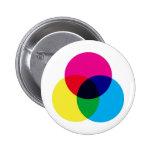 Modelo de color de CMYK Pins