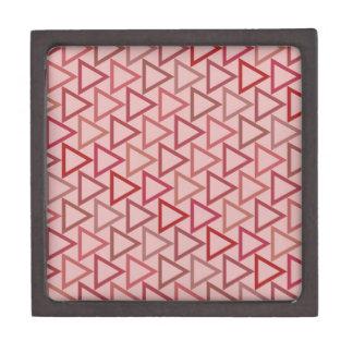Modelo de color de malva del ángulo caja de joyas de calidad