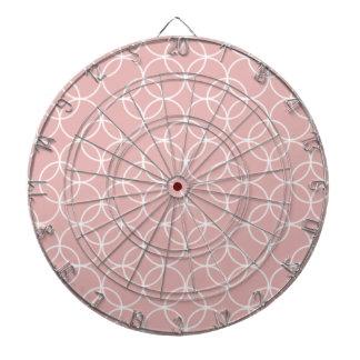 Modelo de color de malva del círculo tablero de dardos