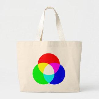Modelo de color del RGB Bolsas De Mano