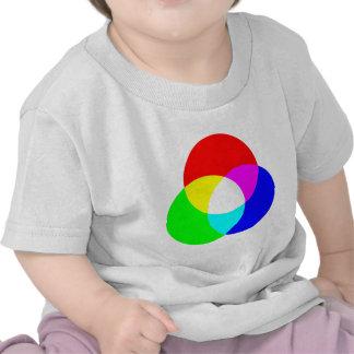 Modelo de color del RGB Camiseta