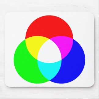 Modelo de color del RGB Tapetes De Ratones