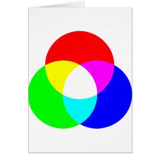 Modelo de color del RGB Tarjetas