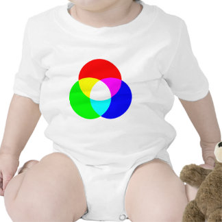 Modelo de color del RGB Traje De Bebé