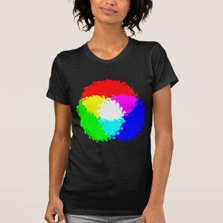 Modelo de color psicodélico del RGB Camisetas