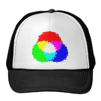 Modelo de color psicodélico del RGB Gorra