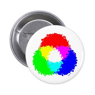 Modelo de color psicodélico del RGB Pin