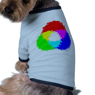 Modelo de color psicodélico del RGB Camisa De Perrito