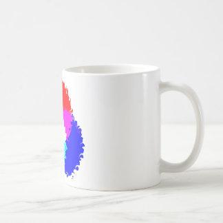 Modelo de color psicodélico del RGB Tazas