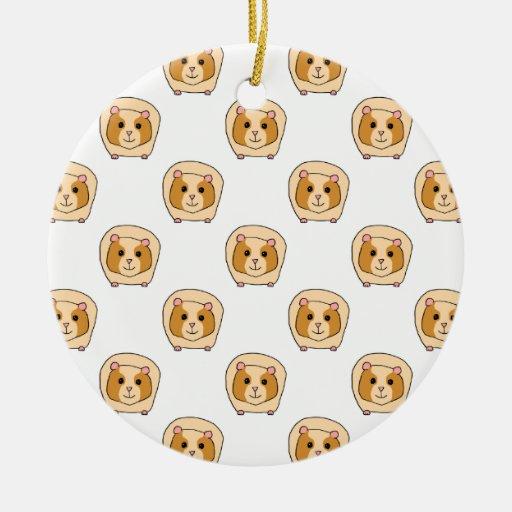 Modelo de conejillos de Indias. Ornamento De Navidad