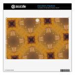 modelo de cristal abstracto BlackBerry skins