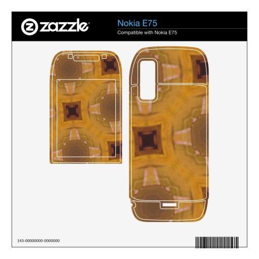 modelo de cristal abstracto skins para elNokia e75