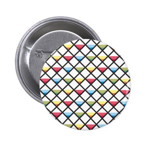 Modelo de cuadrados triángulos pattern squares tri pins