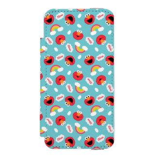 Modelo de Elmo y de los arco iris Funda Billetera Para iPhone 5 Watson