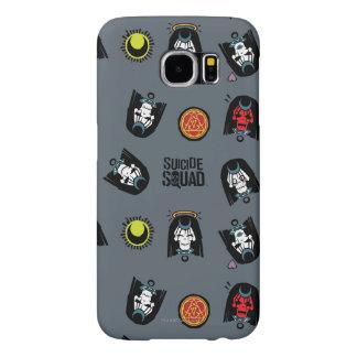 Modelo de Emoji de la encantadora del pelotón el | Funda Samsung Galaxy S6