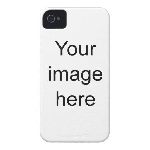 Modelo de encargo de plantilla en blanco de Case-Mate iPhone 4 carcasa