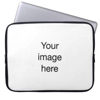 Modelo de encargo de plantilla en blanco de mangas computadora