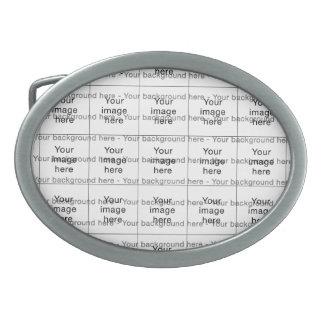 Modelo de encargo de plantilla en blanco mosaico hebillas cinturon