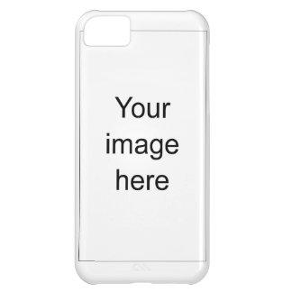 Modelo de encargo de plantilla en blanco para funda para iPhone 5C