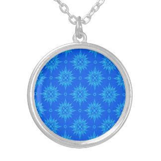 Modelo de estrella azul pendiente personalizado