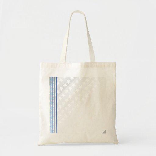 Modelo de estrella blanco hermoso bolsa de mano