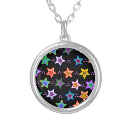 Modelo de estrella colorido joyerías