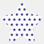 Modelo de estrella de la marina de guerra calcomania cuadrada personalizada