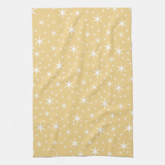 Modelo de estrella en el color blanco y no-metálic toallas de cocina