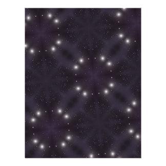 Modelo de estrella folleto 21,6 x 28 cm