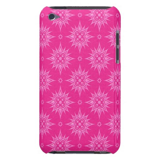 Modelo de estrella rosado barely there iPod cobertura