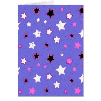 Modelo de estrella tarjeta
