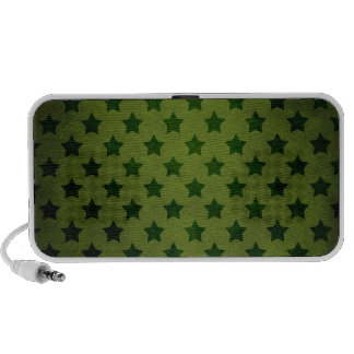 modelo de estrella verde portátil altavoces