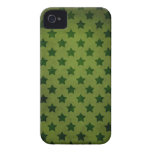 modelo de estrella verde iPhone 4 Case-Mate carcasa