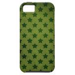 modelo de estrella verde iPhone 5 Case-Mate cobertura