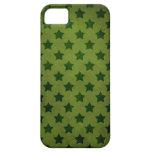 modelo de estrella verde iPhone 5 fundas