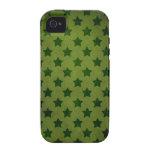 modelo de estrella verde vibe iPhone 4 funda