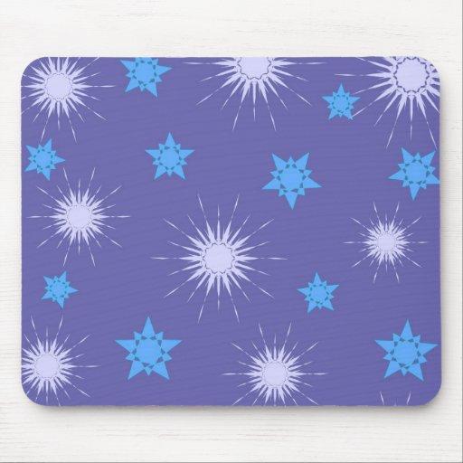 Modelo de estrellas azules - Mousepad Tapetes De Raton