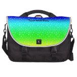 Modelo de estrellas del arco iris bolsas de ordenador