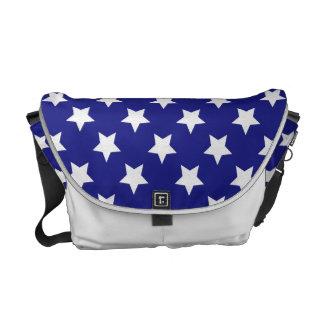 Modelo de estrellas del patriota bolsas messenger