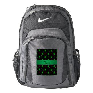Modelo de estrellas negro conocido personalizado mochila