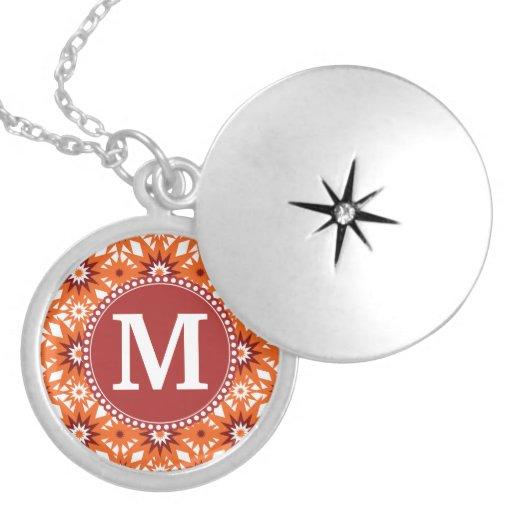 Modelo de estrellas personalizado del rojo anaranj grimpolas personalizadas