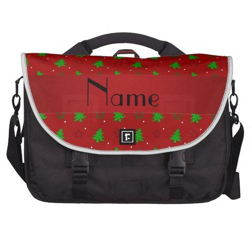 Modelo de estrellas rojo conocido personalizado de bolsas de portatil