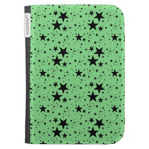 Modelo de estrellas verde y negro