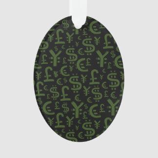 Modelo de Finace de los símbolos del dinero