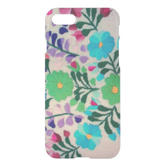 Modelo de flores colorido funda para iPhone 7