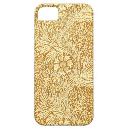 Modelo de flores elegante de William Morris iPhone 5 Fundas